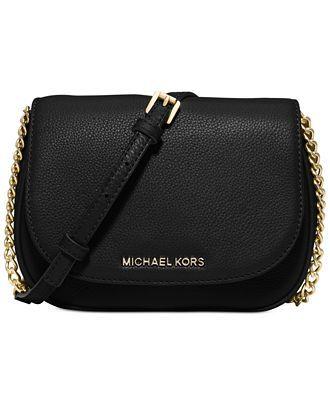 40d4752854e MICHAEL Michael Kors Bedford Small Crossbody Saddle Bag - Designer Handbags  - Handbags & Accessories - Macy's