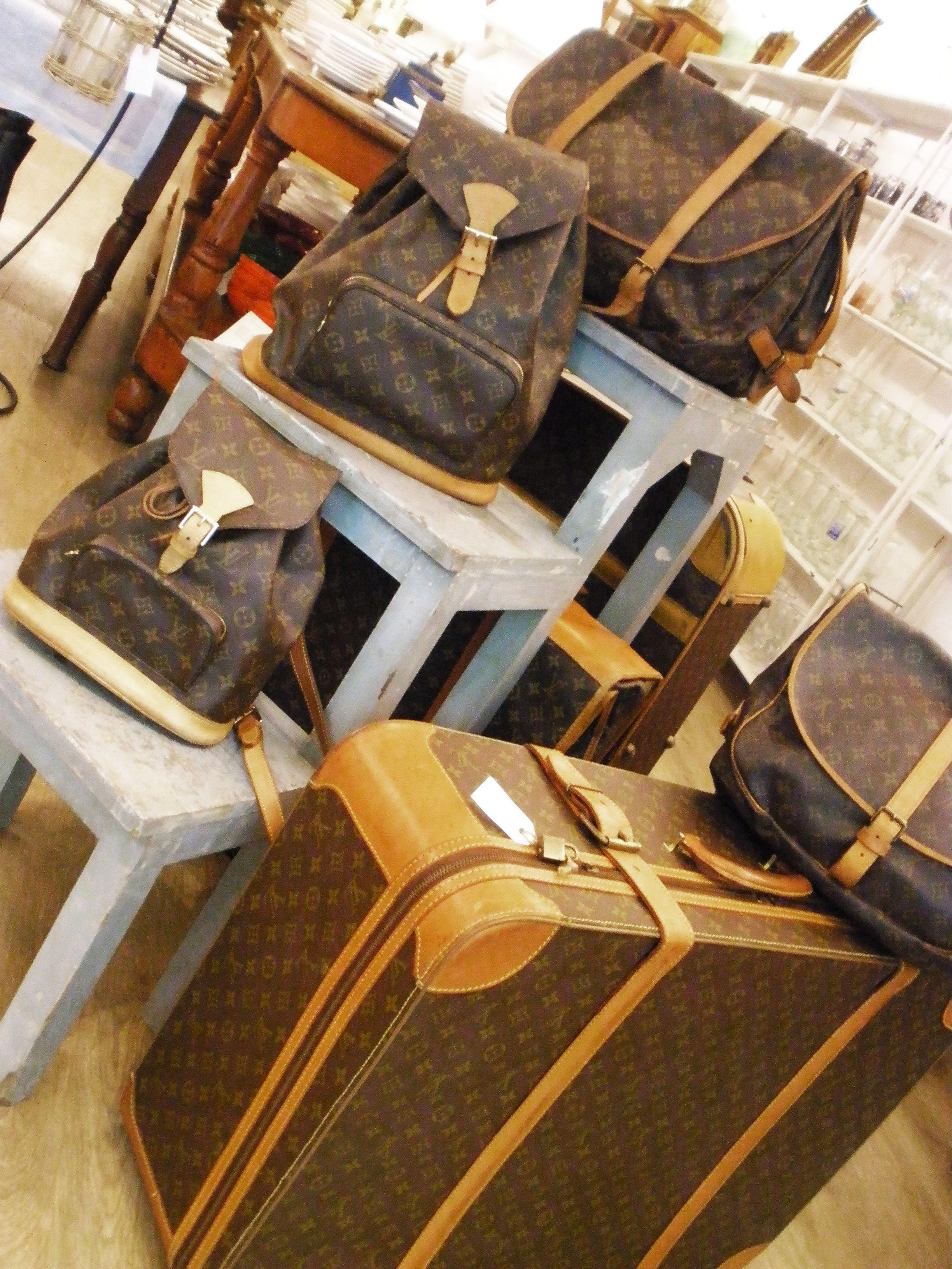 Louis Vuitton Vintage Brocante Home Decor Furniture Store In Palma De Mallorca