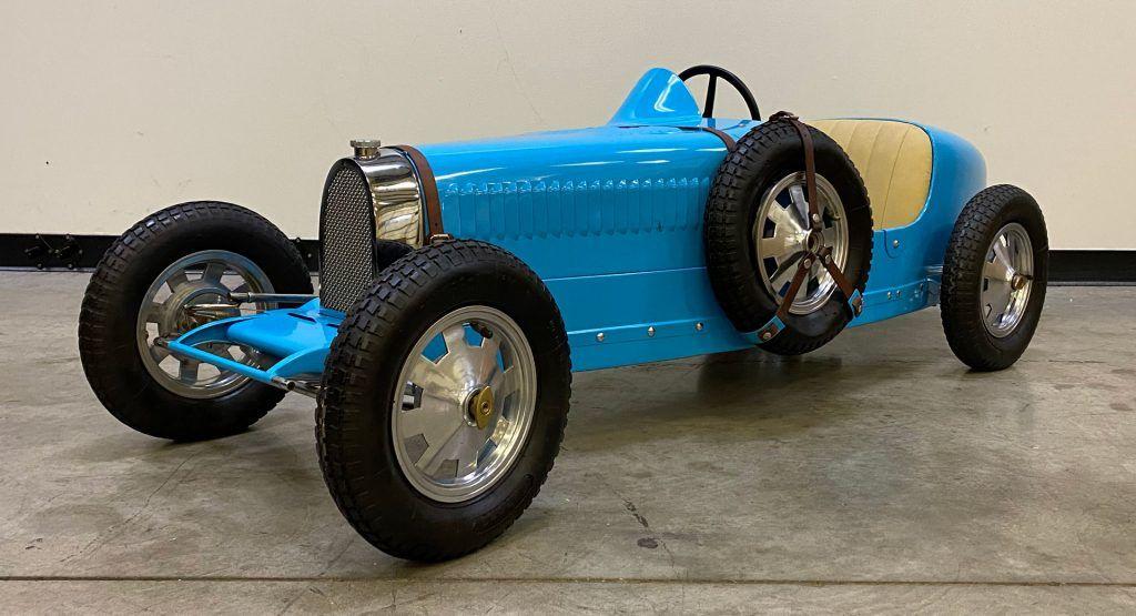Even Replica Baby Bugatti Pedal Cars Cost A Small Fortune   Carscoops