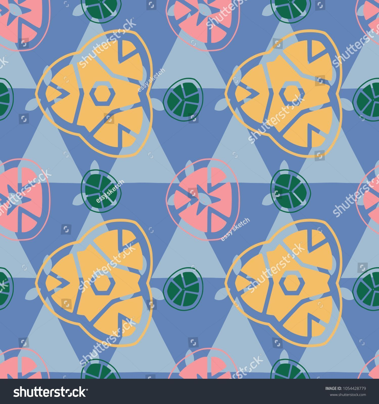seamless pattern fruit abstract tasty, kitchen, icon
