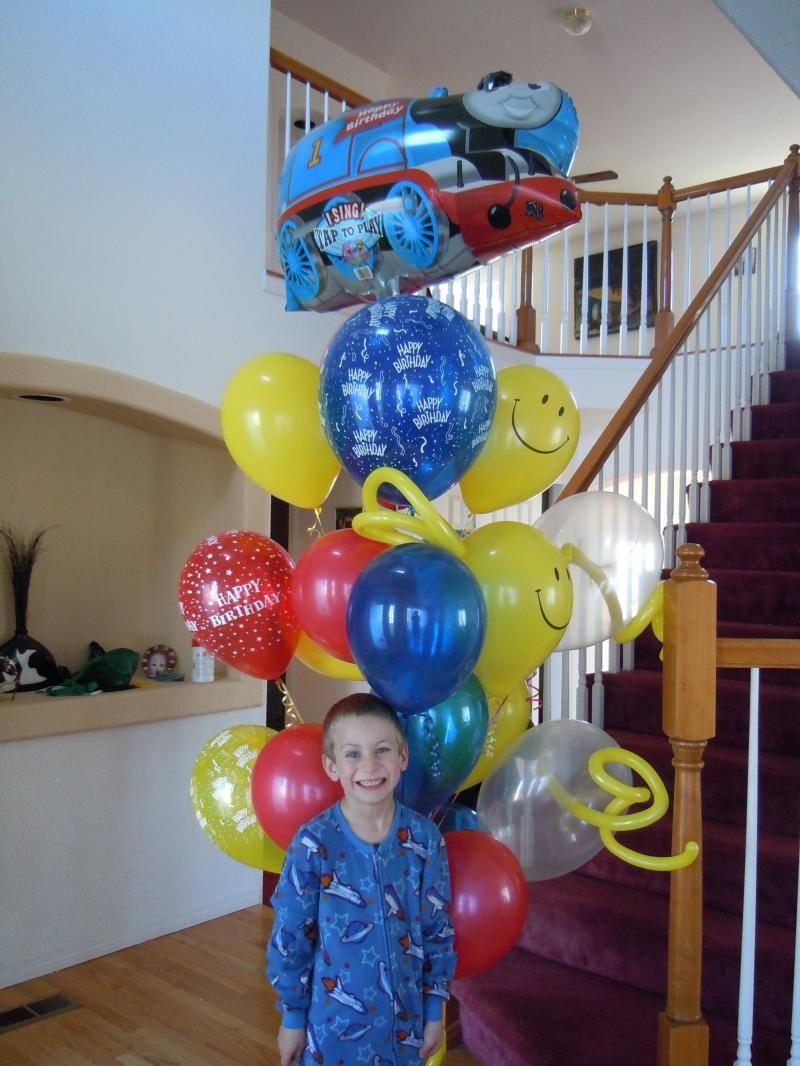 Thomas balloons bouquet