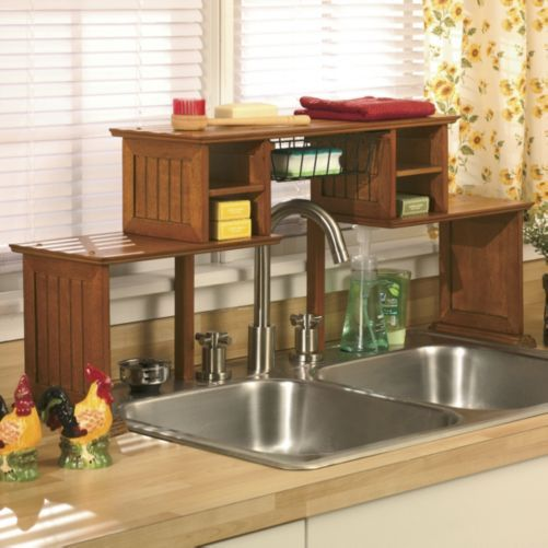kitchen sink cabinet organizer the sink shelf from through the country door 174 5666