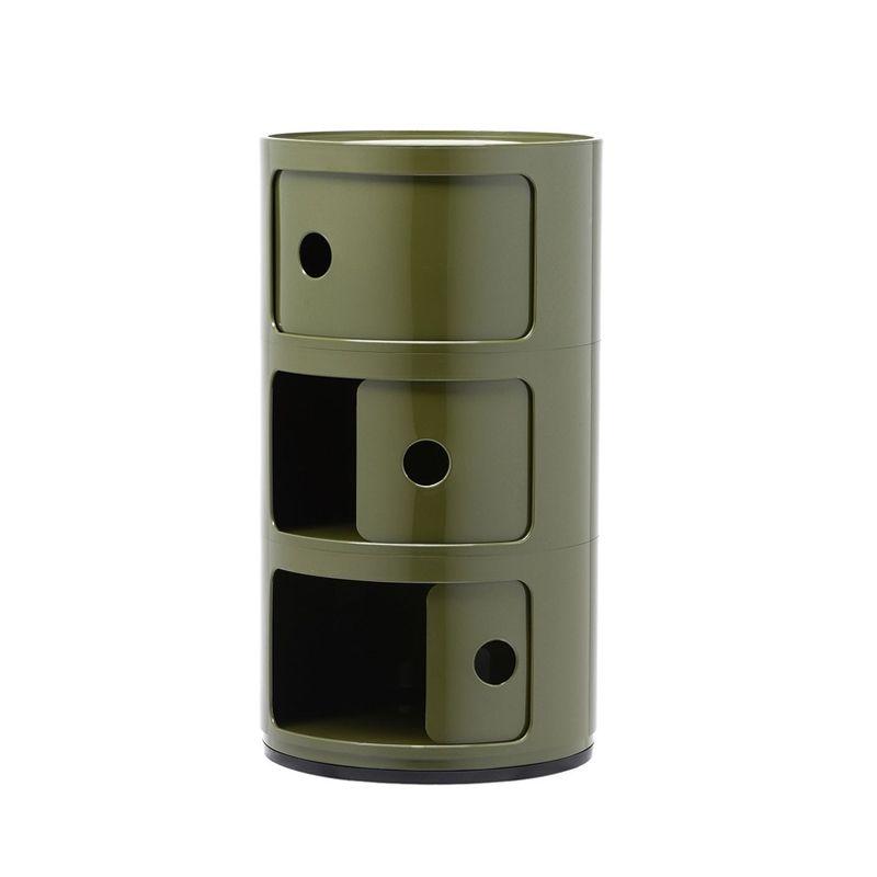 Meuble De Rangement Componibili 3 Tiroirs Kartell Silvera Eshop Meuble Rangement Rangement Kartell