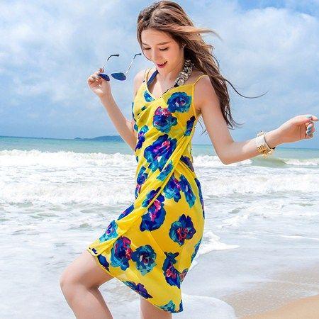 fc6e4f1622 Hot & Stylish Summer Beach Dresses for Girls | Groom You Fashion ...