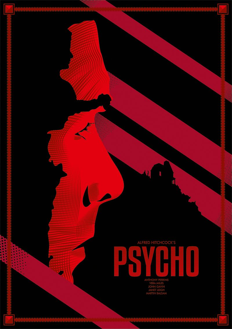 Psycho by lafar movie posters pinterest movie posters
