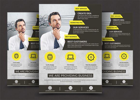 Corporate Flyer Print Templates @creativework247