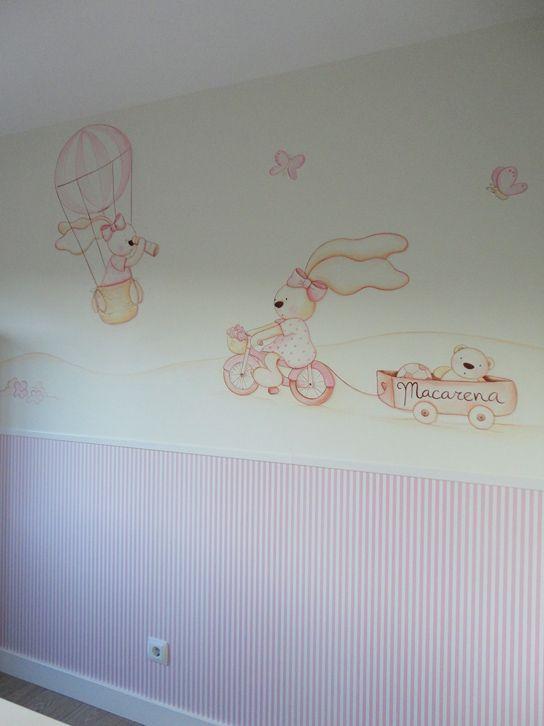 pintura habitacion bebe nia buscar con google
