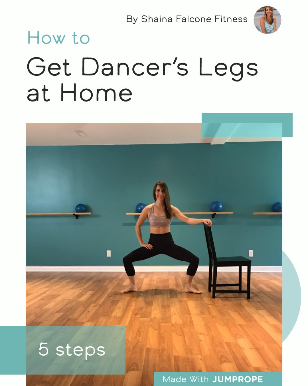 Get Dancer's Legs at Home #pilatesworkoutvideos