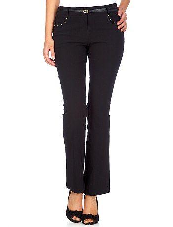Precio 50% en venta más nuevo mejor calificado Pantalón de tela bengalina n… | Pantalones mujer, Pantalones ...