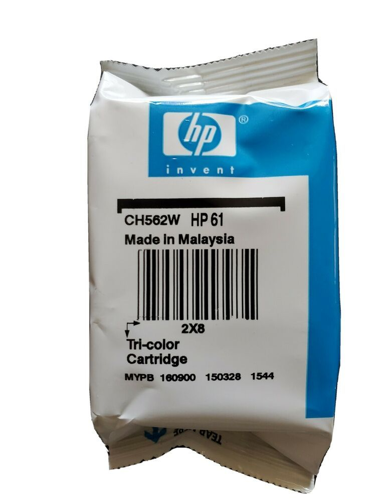 Hp 61 Tri Color Ink Sealed Expired Hp61 Color Ink Cartridge Unopened Hp In 2020 Tri Color Ink Refill Ink Cartridge