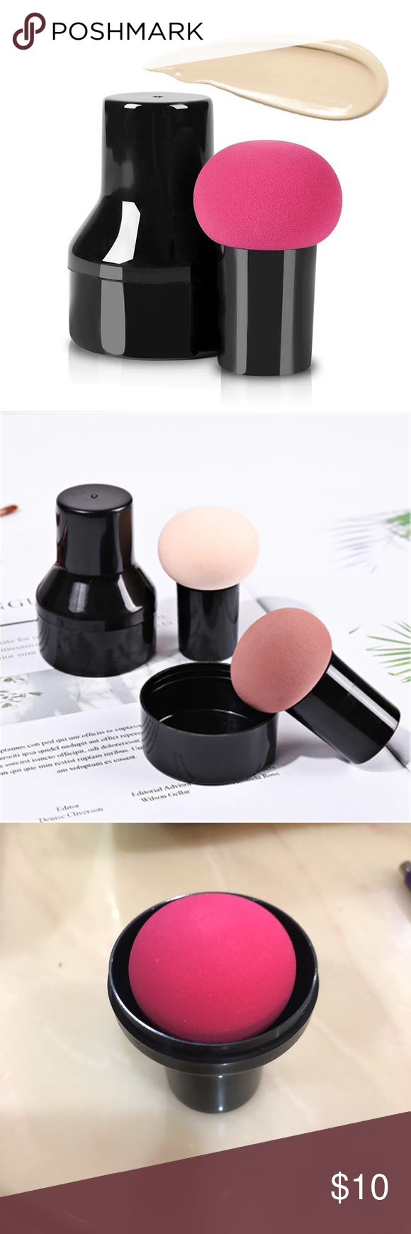 Makeup foundation buff Makeup foundation, Makeup sponge