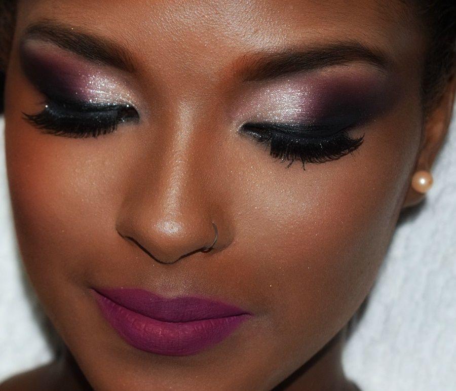 Excepcional Diário da Moda: Maquiagem de Noiva para pele Negra | Makeup  XI32