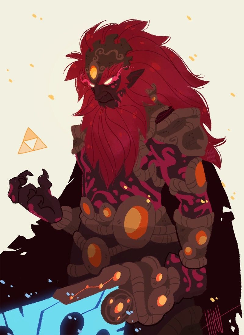 Calamity Ganon Legend Of Zelda Breath Legend Of Zelda Anime