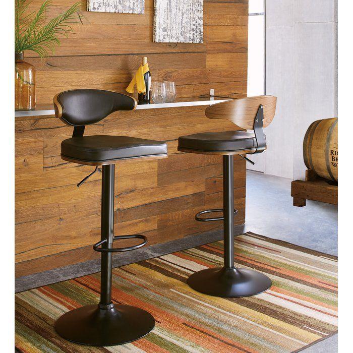 Awe Inspiring Atropos Adjustable Height Swivel Bar Stool In 2019 Kitchen Cjindustries Chair Design For Home Cjindustriesco