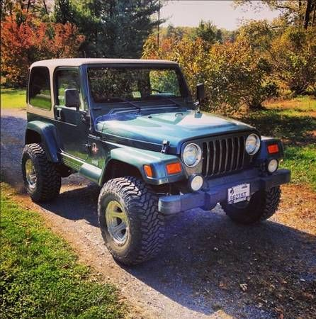 Jeeps For Sale In Va >> Craigslist 2002 9500 Jeep Obo 2002 Jeep Wrangler Sahara