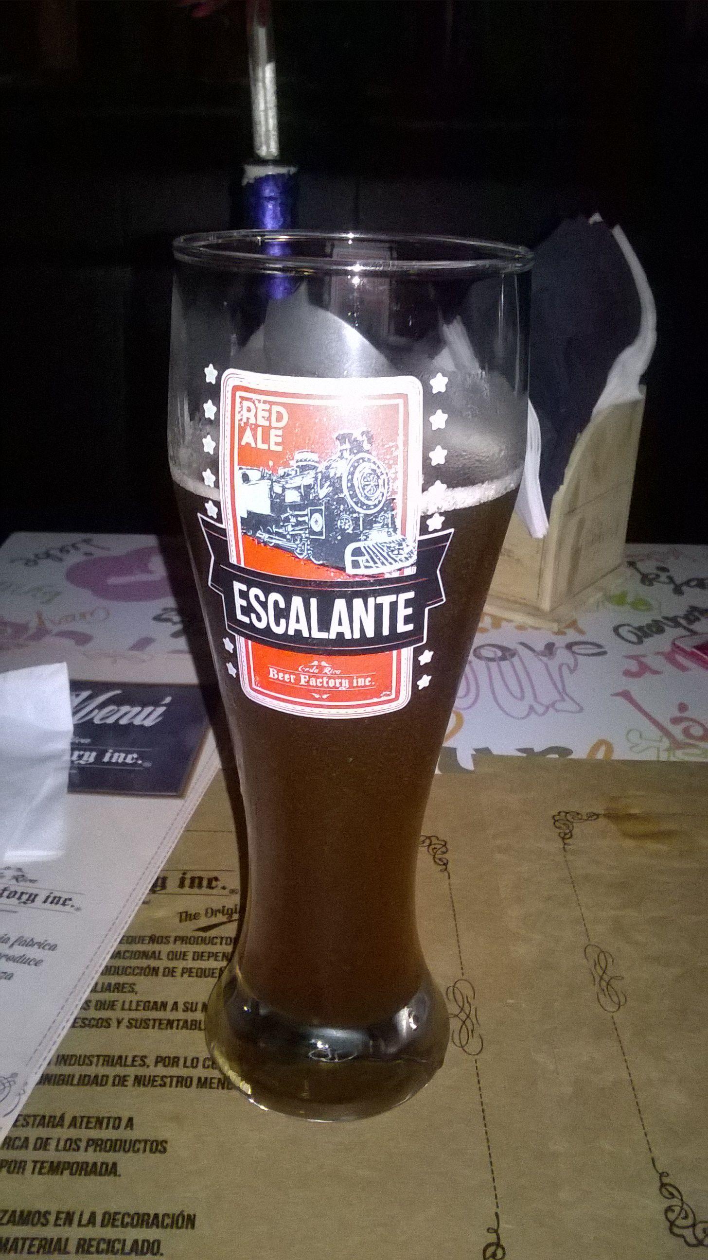 """Cerveza Artesanal """"Escalante"""""""