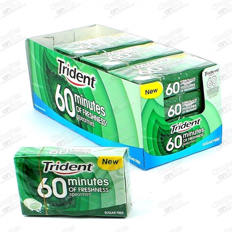 Trident 60 Minutos Hierba 11 26 Sugar Free Trident Food