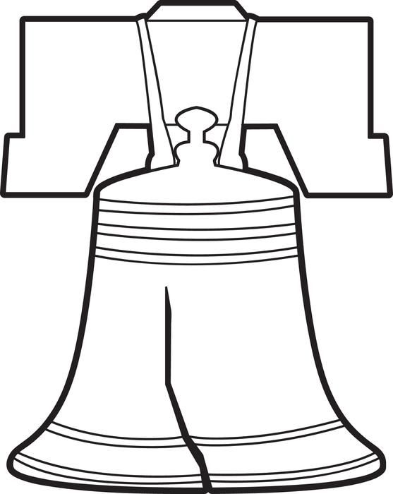Liberty Bell Coloring Page | Liberty bells, Liberty and Social studies