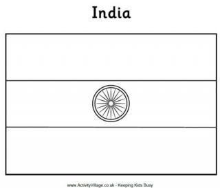 India Flag Printable India Flag Flag Coloring Pages Flag