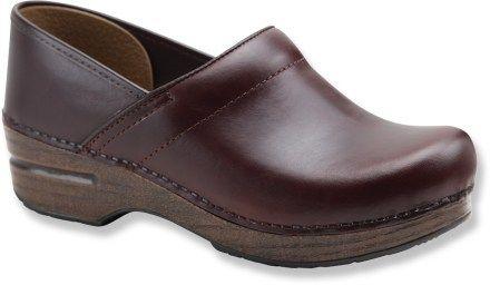 Dansko Professional Oiled Full-Grain Leather Clogs - Women\'s