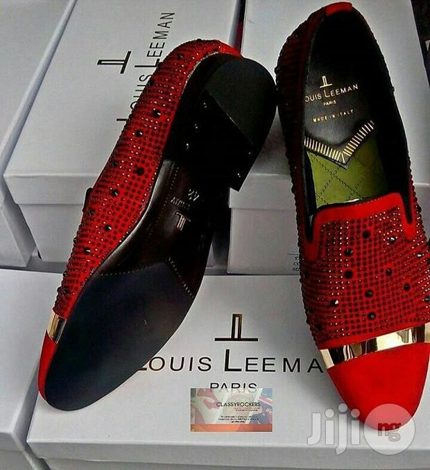 Red Louis Leeman Italian Shoe Shoes For Sale In Lagos Island