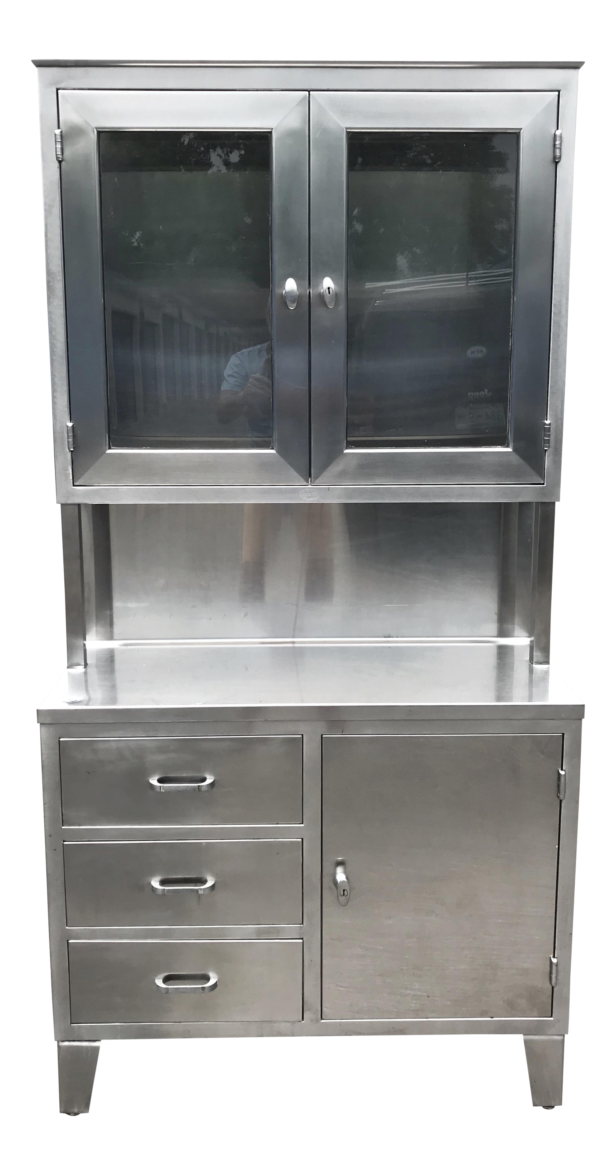 Mid Century Stainless Steel Medical Cabinet Chairish Medical Cabinet Shop Storage Cabinets Cabinet Cupboard