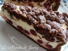 Quark and cherry cake - Le Monde de Jacey - Tunisian cuisine - #cherry #cuisine #jacey #monde #quark #tunisian - #Cucina