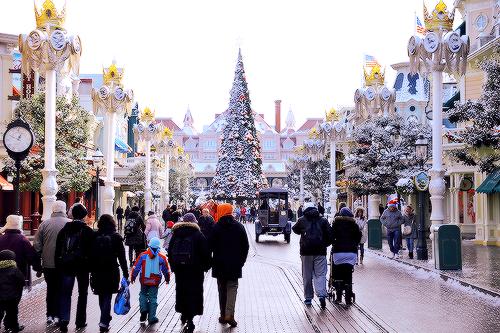 """"""" Snow at Disneyland Paris (x) """""""