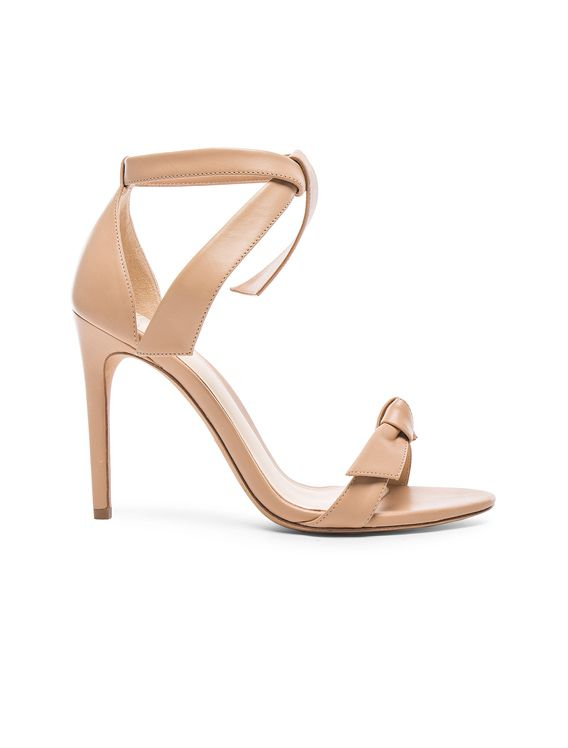 Not strap nude heels ankle and