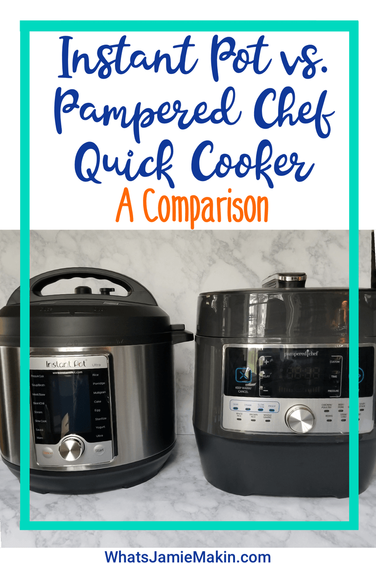 Electric Pressure Cooker Instant Pot Vs Quick Cooker Pc In 2019 Cooker Pampered Chef