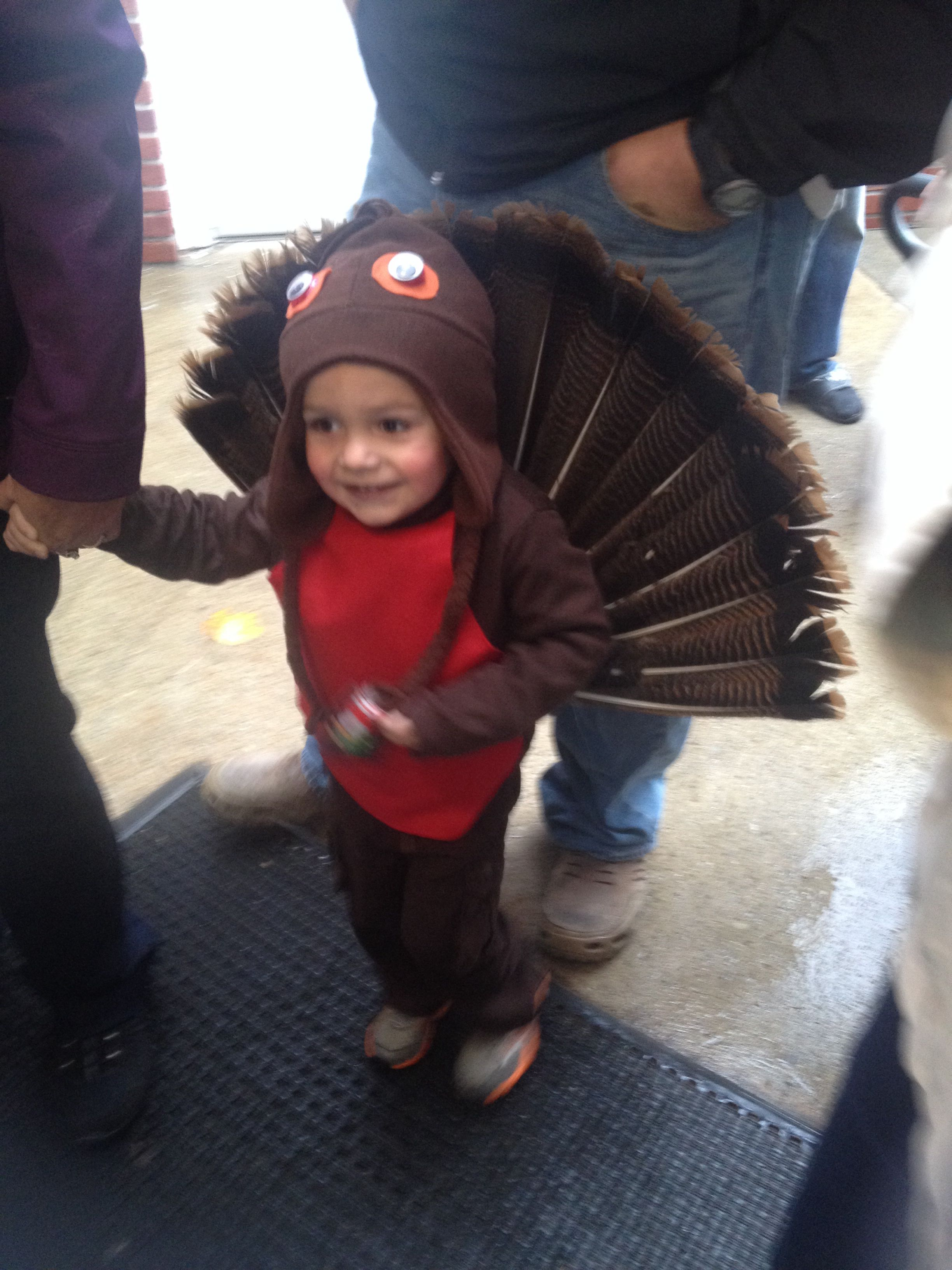 Homemade turkey costume james pinterest turkey costume and homemade turkey costume turkey costumekid costumesfancy solutioingenieria Images