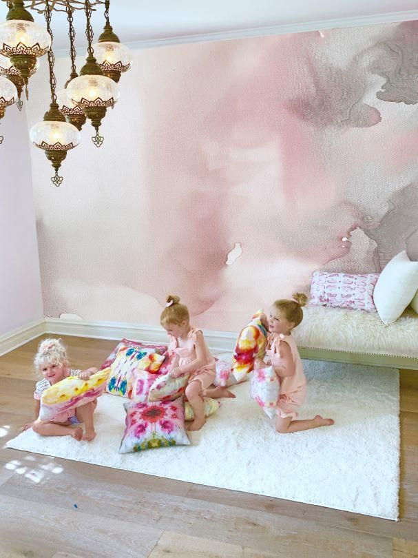 Best Pink Mist Wall Mural 9 Tall X 10 Wide In 2020 Pink 640 x 480