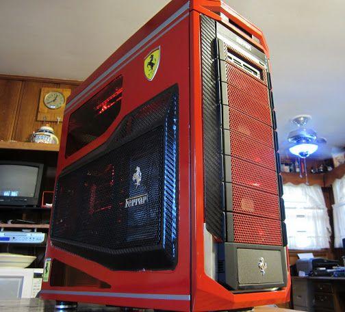 Ferrari 599 Gto Tribute Cm Storm Trooper Cooler Master Cm Storm Trooper Pc Cases