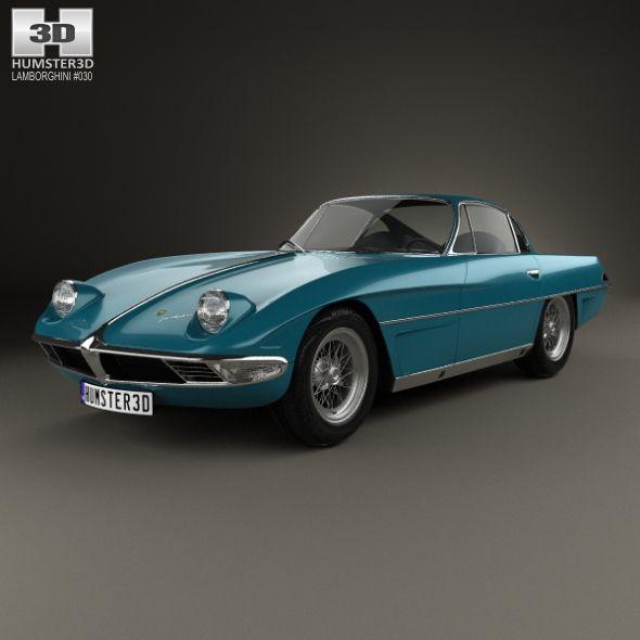 #Lamborghini 350 GTV 1963