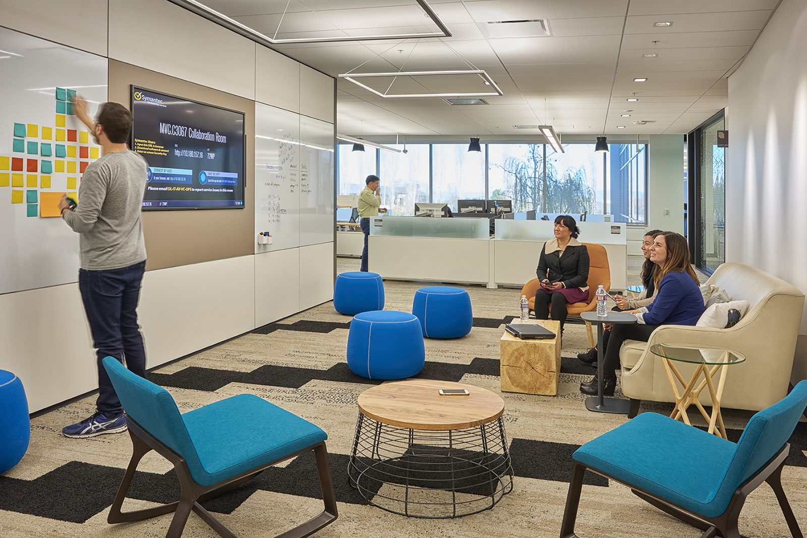 A Tour of Symantec's Super Cool Mountain View Office