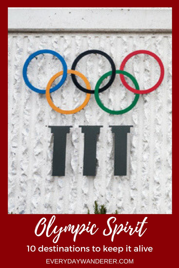 10 destinations to keep the Olympic Spirit alive all year long #olympics #olympicspirit #olympicflame #travel #northamerica #europe #switzerland