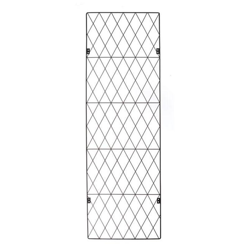 Screen Panel Mtl Garden Trend 112x46cm Sq Top Trellis 3161 I N 3320900 Bunnings Warehouse Trellis Garden Living Plant Wall