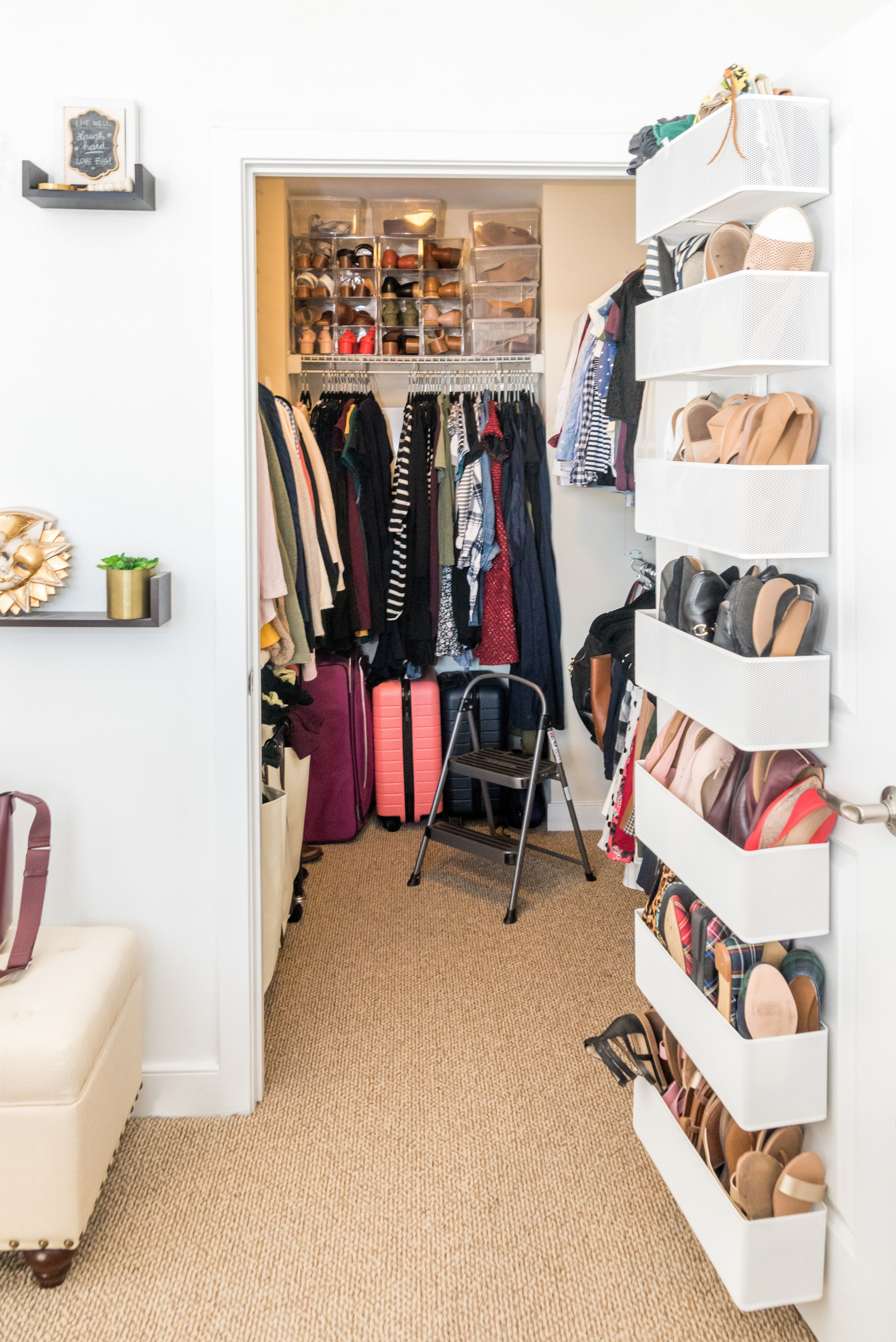 How I Re Organized My Closet With The Home Edit Something Good A Dc Style And Lifestyle Blog On A Budget Shoe Organization Closet The Home Edit Bedroom Organization Closet
