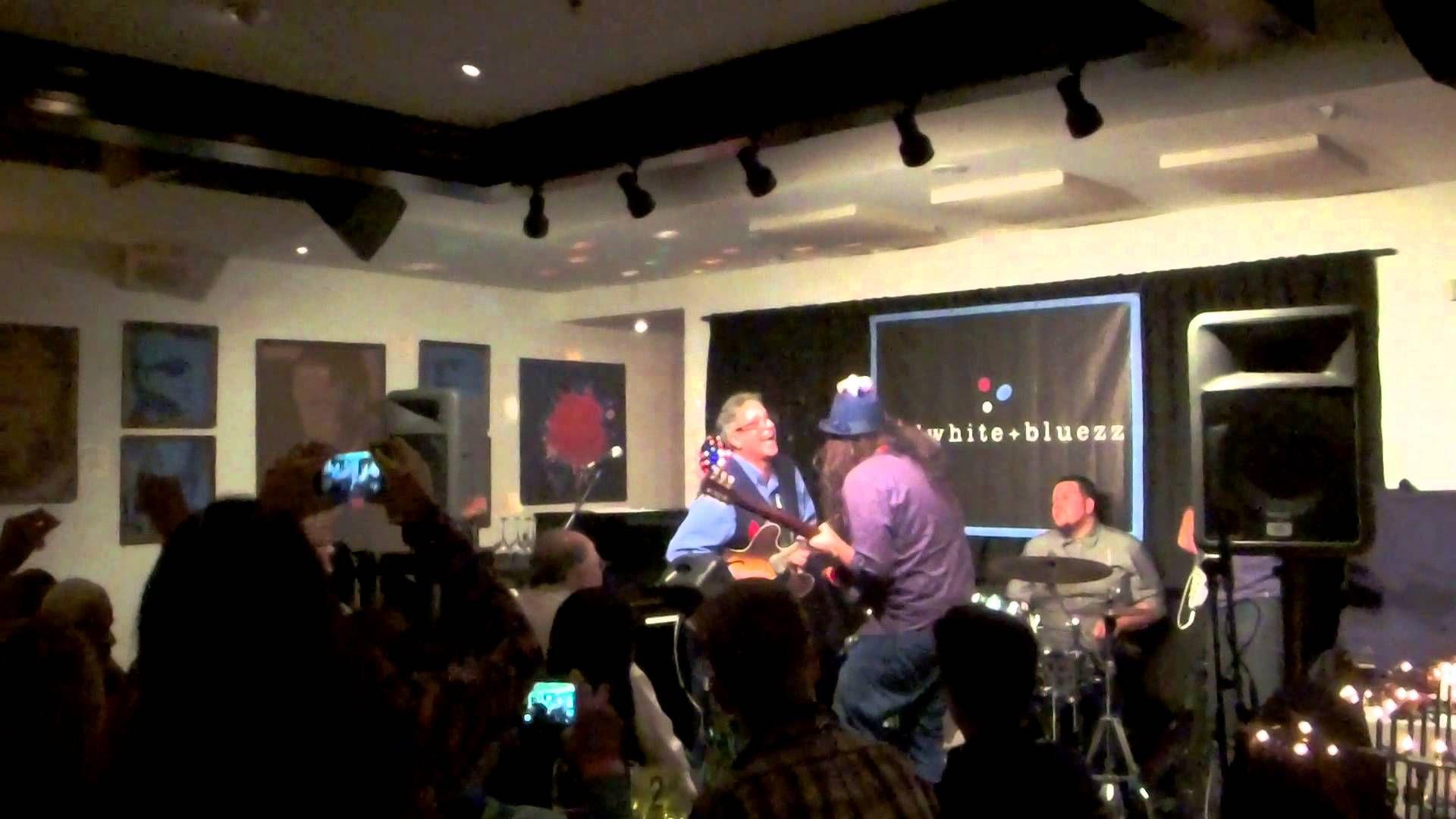 Chris Cain, Sammy Avila and Sons Jammin' at Cadillac Zack's Weekly Blues...