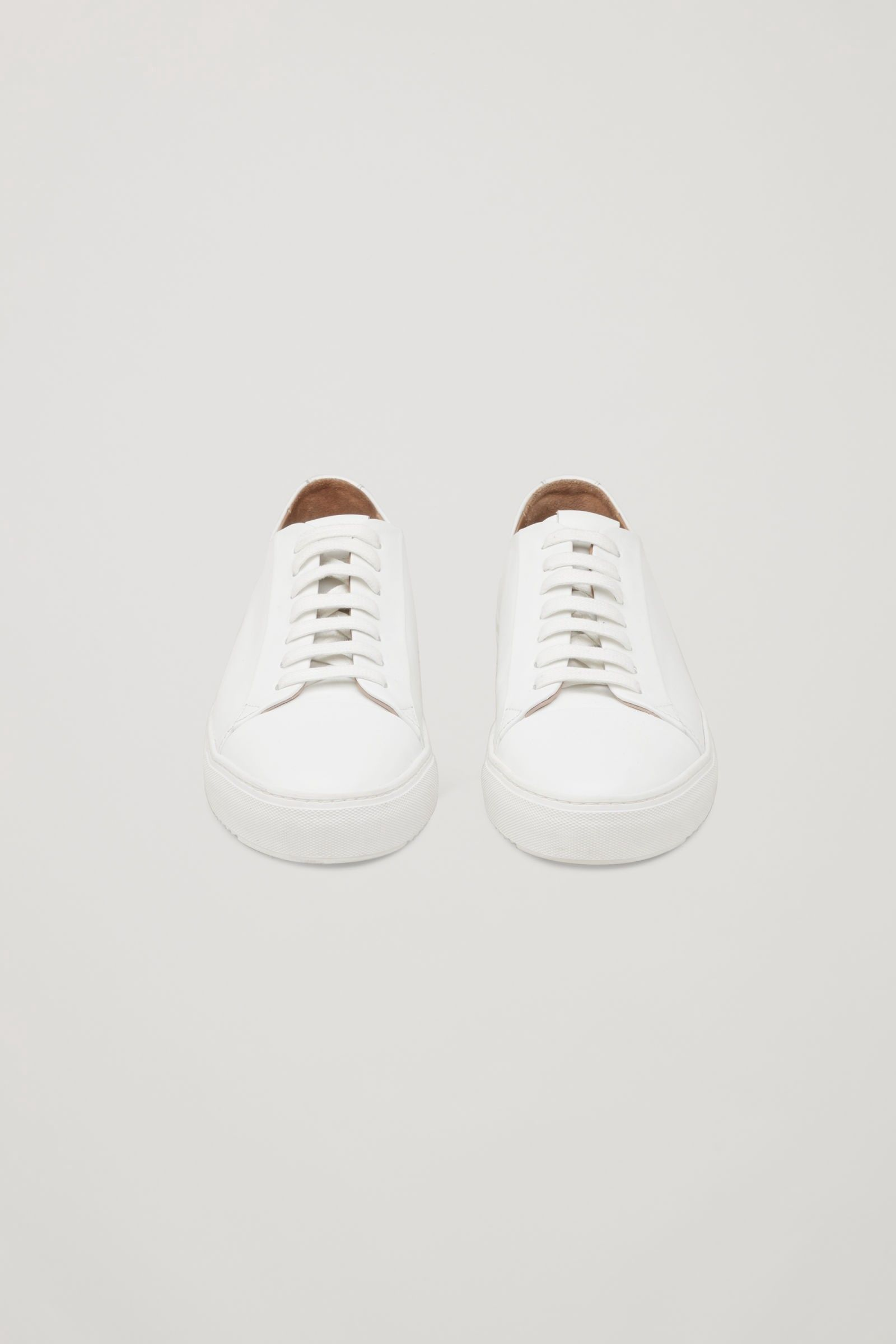 31841c173aa7 THICK-SOLED LEATHER SNEAKERS - white by COS