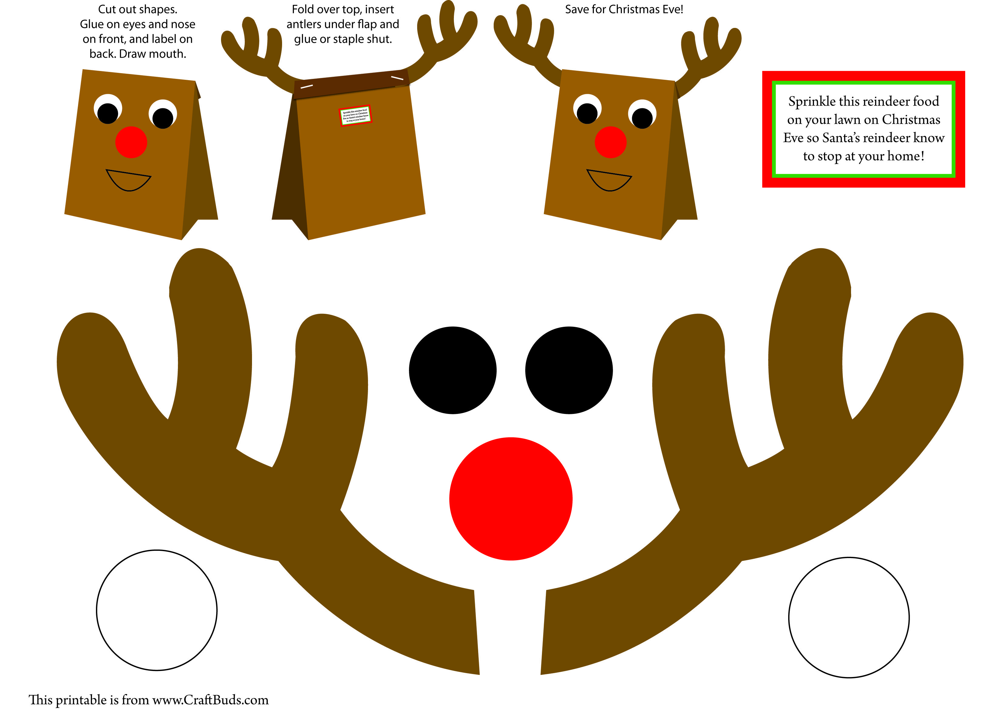 Kids Christmas Party Craft Stations