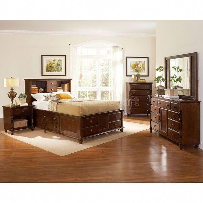 Hampton Bedroom Set w/ Captains Bed #Coasterfurniture Coaster