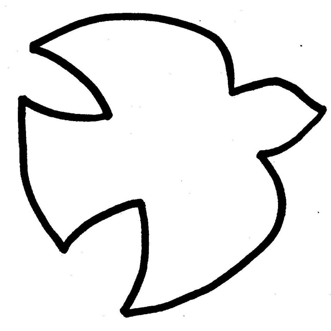 Descending Dove Clip Art