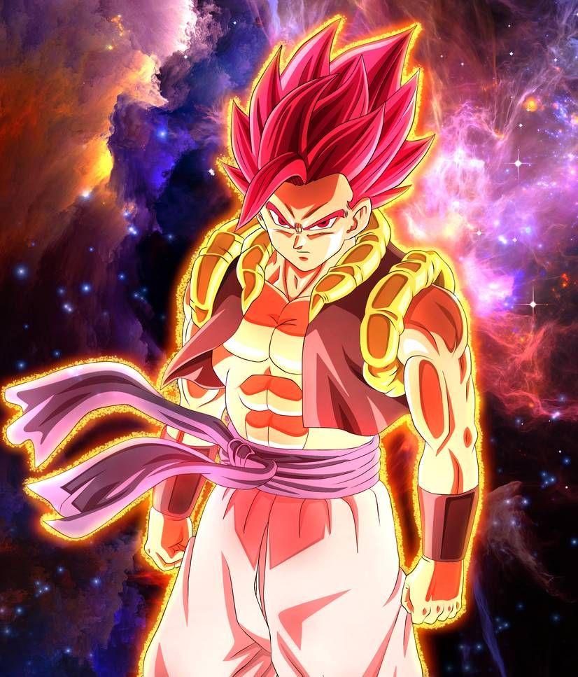 Gogeta Super Saiyan God Dragon Ball Super Dragon Ball Super Art Dragon Ball Art Dragon Ball Artwork