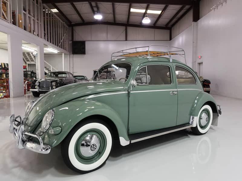 1957 Volkswagen Oval Window Beetle for sale Original Interior – Daniel Schmitt &…