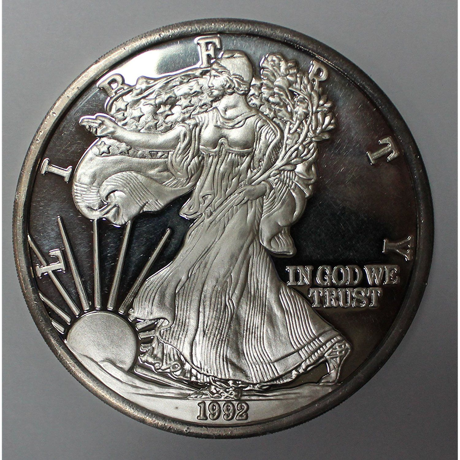 1992 American Silver Eagle 1 Pound Commemorative Round 1lb Uncirculated For More Information American Silver Eagle Coin Collecting Silver Eagles