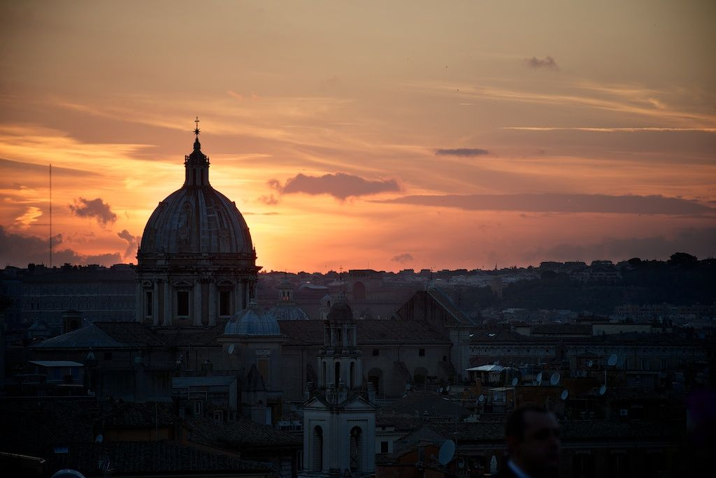 Terrazza Caffarelli Wedding Rome Fine Art Wedding