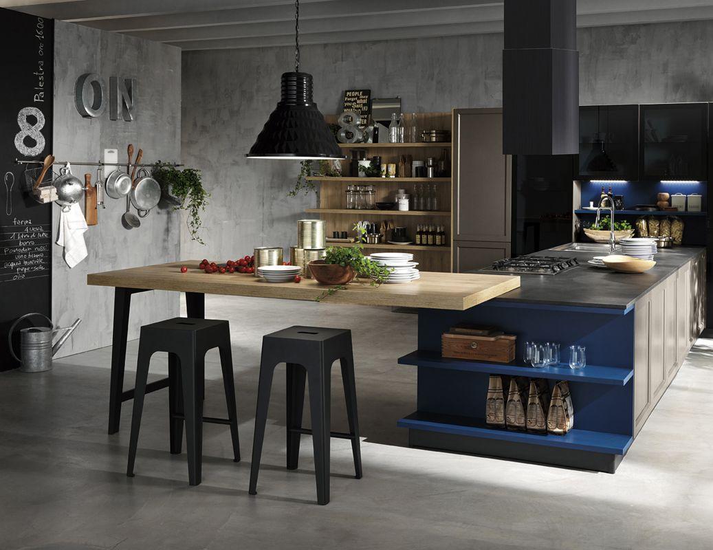 Nuova collezione harmony garage arredamento cucina - Arredamento garage ...