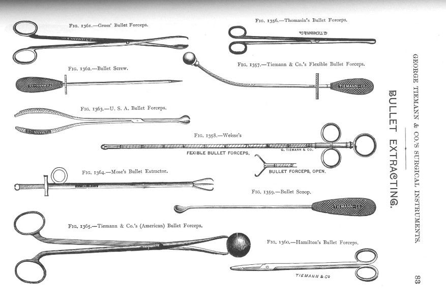 CIVIL WAR BULLET EXTRACTOR- ouch! Infection threatened the life of every wounded Civil War soldier- Civil War surgeons had to work without knowledge of the nature of infection and without drugs to...