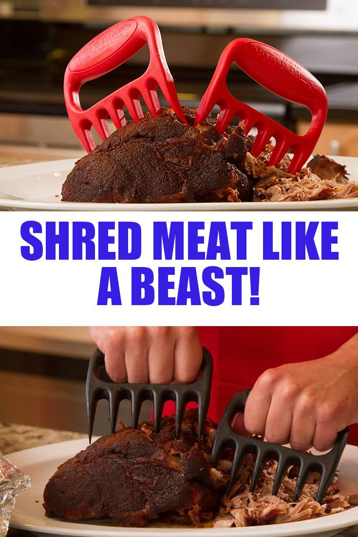 Bear Paw Meat Handler Forks: The best thing for shredding meat such as a smoked pork roast!  YUM!  I have a pair of these and use them all the time.  Not only do they do a great job of tearing meat up, they work great for pulling roast and such out of the pan.